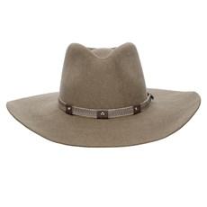 Chapéu Cavalgada Castor Fita de Nylon e Couro Texas Diamond 26404
