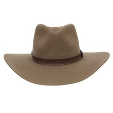 Chapéu Cavalgada de Feltro Castor Bandinha Marrom Texas Diamond 28692