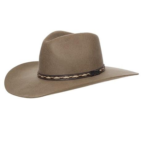 Chapéu Cavalgada de Feltro Castor Texas Diamond 25274