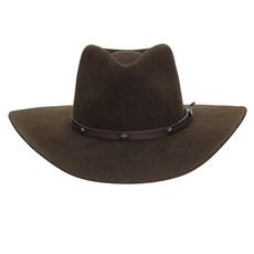 Chapéu Cavalgada de Feltro Marrom Texas Diamond 25258