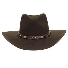 Chapéu Cavalgada de Feltro Marrom Texas Diamond 25259