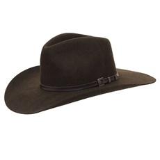 Chapéu Cavalgada de Feltro Marrom Texas Diamond 25261