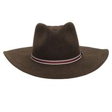 Chapéu Cavalgada de Feltro Marrom Texas Diamond 26278