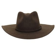 Chapéu Cavalgada de Feltro Marrom Texas Diamond 28935