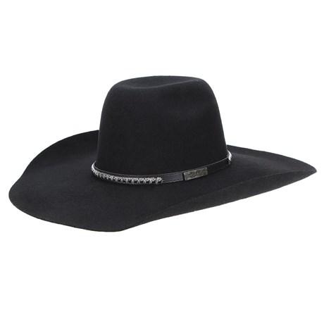 Chapéu Copa Alta 30X Texas Diamond Preto 22808