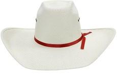 Chapéu Copa Alta Bandinha Fita Vermelha Texas Diamond 21115