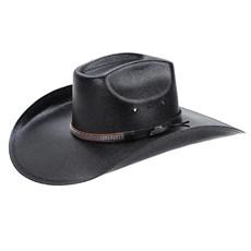 Chapéu Copa Quadrada Preto Texas Diamond 22973