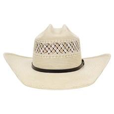 Chapéu Country 20X Amarelo Rendado Bandinha Preta com Fivela Texas Diamond 28877