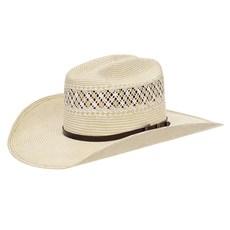 Chapéu Country 20X Amarelo Rendado e Bandinha com Fivela Texas Diamond 28873