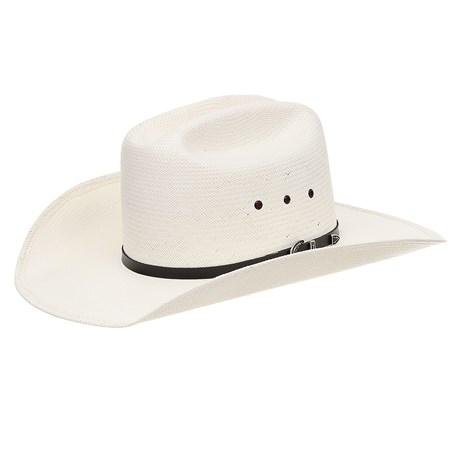 Chapéu Country 20X Bandinha Preta com Fivela Texas Diamond 28897