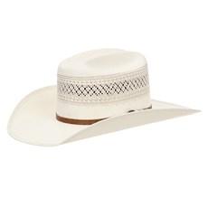 Chapéu Country 20X Rendado Bandinha Caramelo com Fivela Texas Diamond 28900