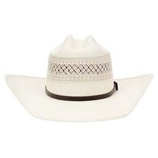 Chapéu Country 20X Rendado e Bandinha com Fivela Texas Diamond 28901