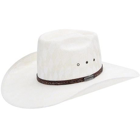 Chapéu Country Bandinha de Couro Arame Texas Diamond 21059