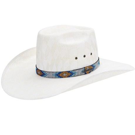Chapéu Country Bandinha Mosaico Texas Diamond 21057