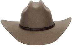 Chapéu Country com Bandinha de Couro Entalhada Texas Diamond 21040