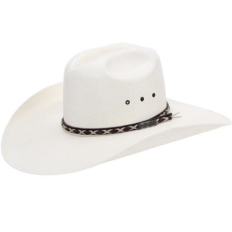Chapéu Country Com Bandinha de Couro Texas Diamond Aba Larga 21067