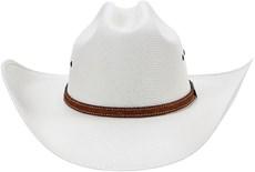Chapéu Country Com Bandinha de Couro Virado Texas Diamond 21104