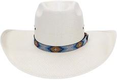 Chapéu Country Copa Alta Bandinha Mosaico Texas Diamond 21044