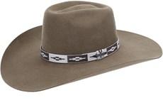 Chapéu Country de Feltro Aba Larga Texas Diamond Castor 20999
