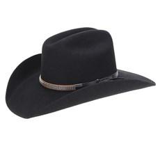 Chapéu Country Preto 6X Texas Diamond Feltro 22847 ... 853dbf8f092