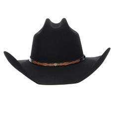 Chapéu Country Preto 6X Texas Diamond Feltro 24345