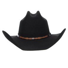 Chapéu Country Preto 6X Texas Diamond Feltro 24345