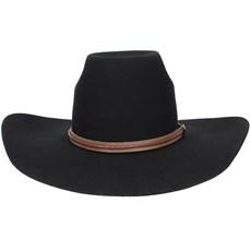 ... Chapéu Country Preto de Feltro Texas Diamond 20833 c78088cf040