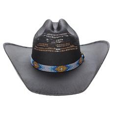 Chapéu Country Preto Texas Diamond 23624