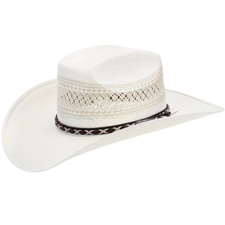 Chapéu Country Ventilado Copa Quadrada Shantung 20X Texas Diamond 21438 58ba611e0d7