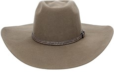 Chapéu Cowboy Aba Larga Texas Diamond Castor 21005
