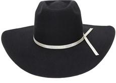 Chapéu Cowboy Preto Texas Diamond Copa Alta 20995