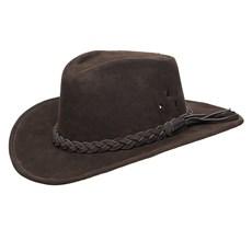 Chapéu de Couro Marrom Texas Diamond 25289