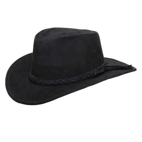 Chapéu de Couro Preto Texas Diamond 25287