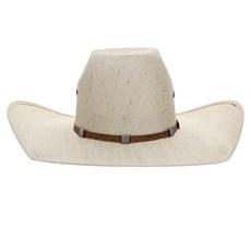 Chapéu de Cowboy Aba Larga Bandinha de Couro Bordado Texas Diamond 26395