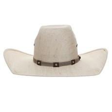Chapéu de Cowboy Aba Larga Fita de Nylon e Couro Texas Diamond 26396