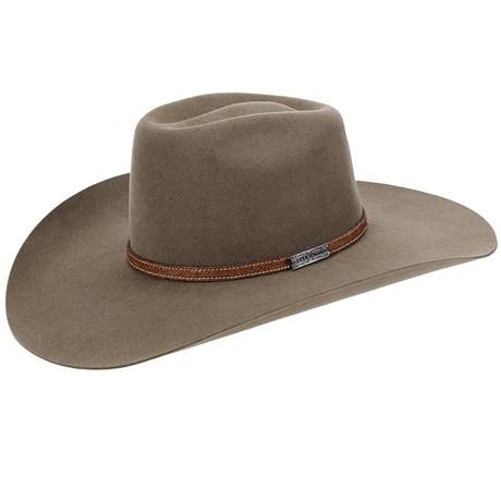 Chapéu de Cowboy Aba Larga Texas Diamond Castor 21000
