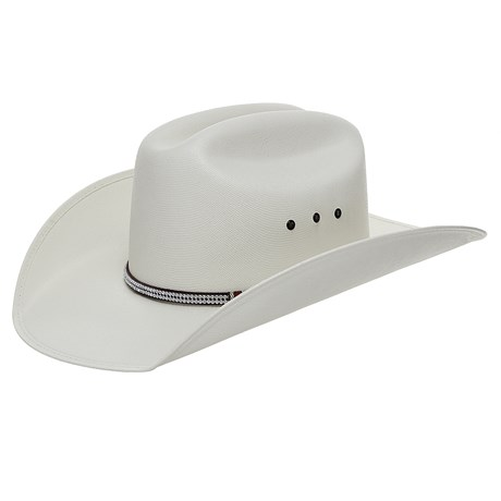 Chapéu de Cowboy Branco Bandinha Strass Texas Diamond 24804