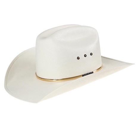 Chapéu de Cowboy Branco Fio Dourado Texas Diamond 24802