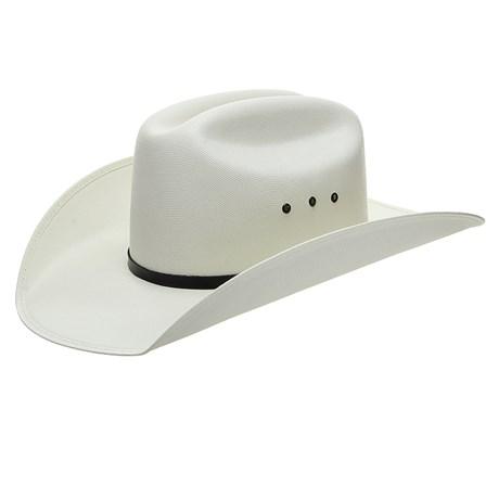 Chapéu de Cowboy Branco Texas Diamond 25029