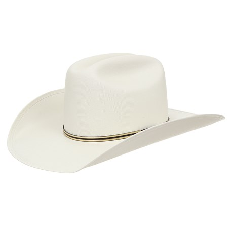 Chapéu de Cowboy Branco Texas Diamond 28972