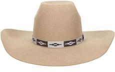 Chapéu de Cowboy Feltro Bege Texas Diamond 20772