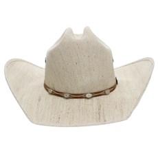 Chapéu de Cowboy Juta Bandinha com Recorte e 4 Apliques Texas Diamond 24880