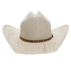 Chapéu de Cowboy Juta Bandinha Couro Bordado Arame com Strass Texas Diamond 24884