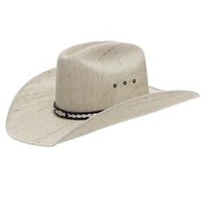Chapéu de Cowboy Juta Bandinha de Couro Café Escamada Texas Diamond 24877
