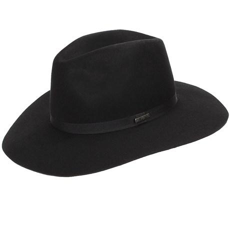 Chapéu de Feltro 100% Lã Preto - Marcatto 18388