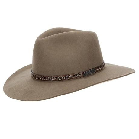 Chapéu de Feltro 3X Texas Diamond Forrado Castor 22813
