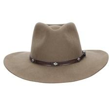 Chapéu de Feltro 3X Texas Diamond Forrado Castor 22814