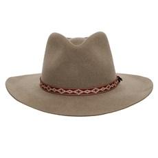 Chapéu de Feltro 3X Texas Diamond Forrado Castor 26296