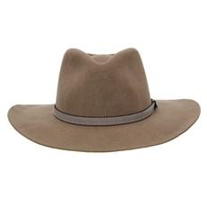Chapéu de Feltro 3X Texas Diamond Forrado Castor Bandinha Bicolor 28489