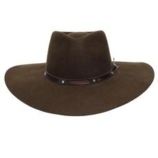 Chapéu de Feltro 5x Campo II Pralana Marrom 24908